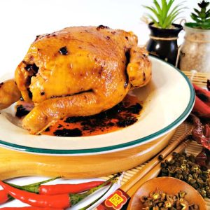 Addictive MALA Baked Chicken