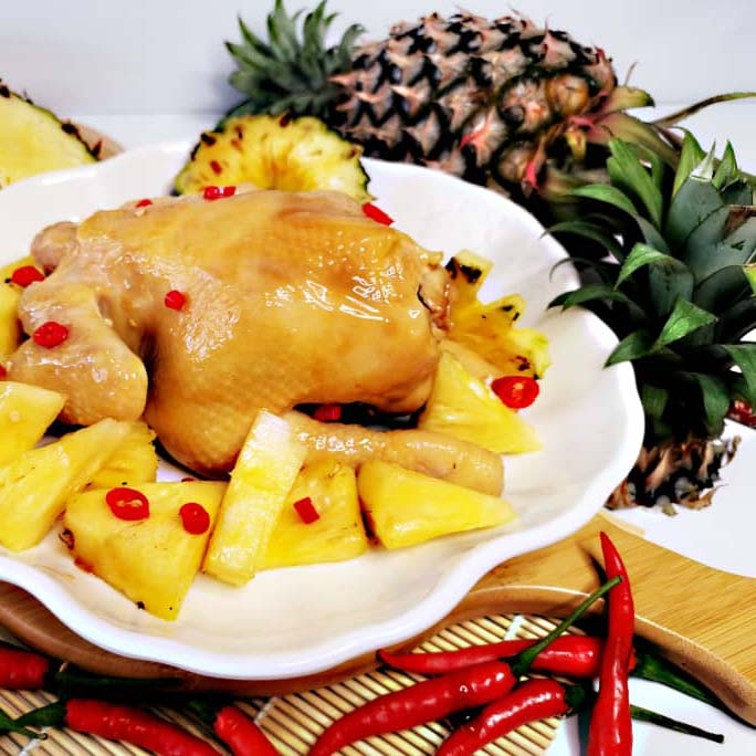 Crystal Honey Pineapple Baked Chicken